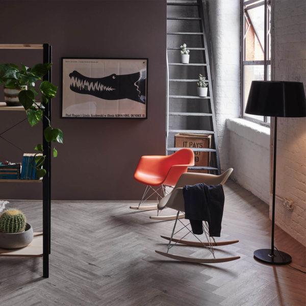 Brecon River Oak Herringbone Flooring Roomset